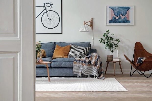 уютная квартира в швеции