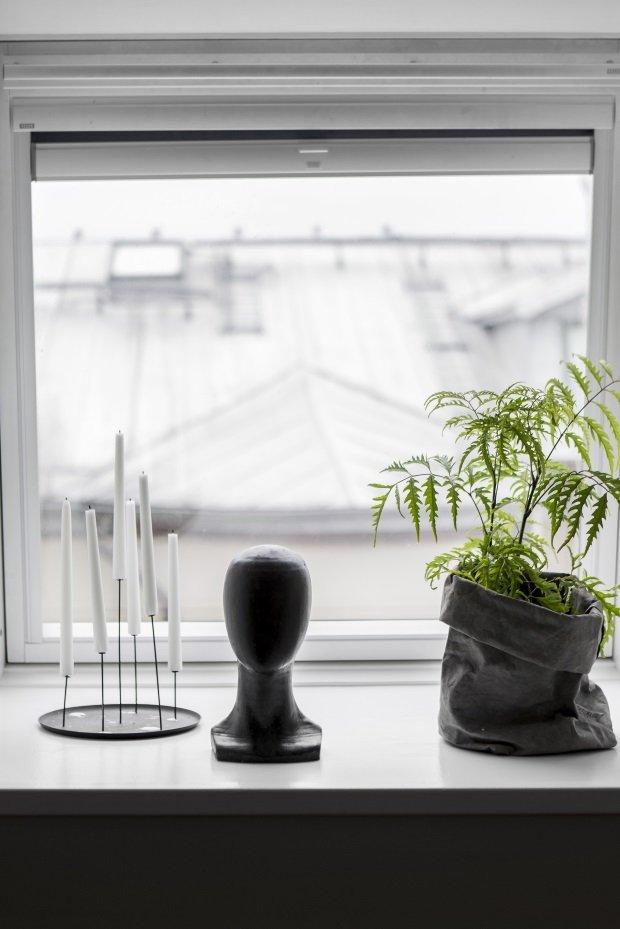 Предметы декора в шведской квартире