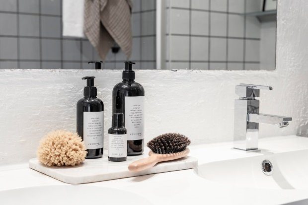 Современная квартира: скандинавская ванная