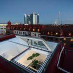 Современная квартира: выход на крышу в скандинавской квартире