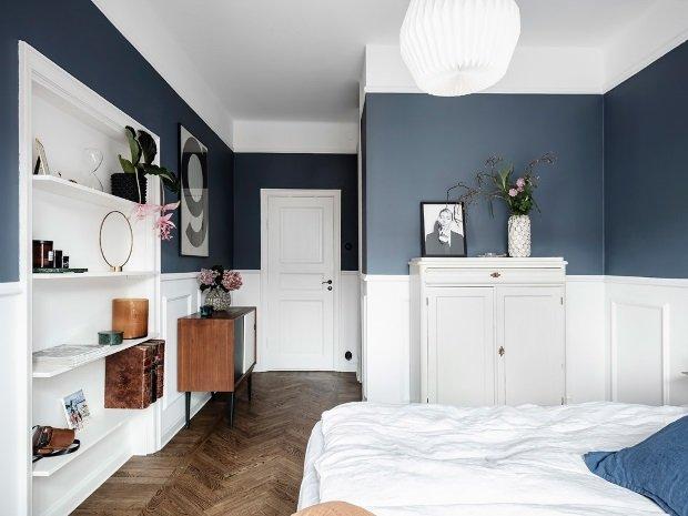 Спальня в скандинавском стиле: декор в спальне