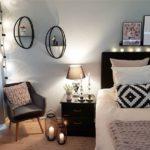 Спальня в скандинавском стиле: уютное освещение в спальне