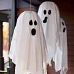 Летающие приведения, декор на Хэллоуин