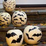 Разрисованные тыквы на Хэллоуин