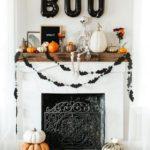 Декор камина к Хэллоуину