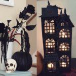 Декор в черном цвете к Хэллоуину