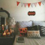 Декор в квартире на Хеллоуин, флажки