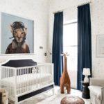 Детская в скандинавском стиле: тигр-летчик картина