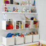 Детская в скандинавском стиле: хранение, шкафы и ящики