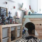 Детская в скандинавском стиле: укромный уголок