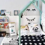 Детская в скандинавском стиле: спальня Глеба