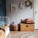 Детская в скандинавском стиле: ящик для хранения