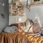 Детская в скандинавском стиле: очень уютная