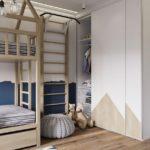 Детская в скандинавском стиле: комната для мальчика