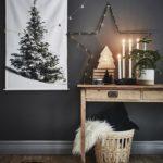 Новогодние украшения 2019: постер елка