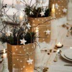 Новогодние украшения 2019: ветки в пакетах