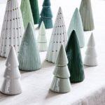 Новогодние украшения 2019: статуэтки елки
