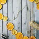 Новогодние украшения 2019: гирлянда из сушеных апельсинов