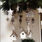 Новогодние украшения 2019: украшение домики