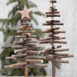 Новогодние украшения 2019: елки из палочек
