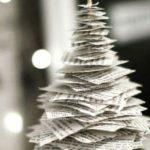 Новогодние украшения 2019: елка из бумаги