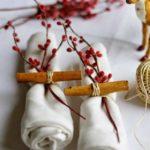 Новогодние украшения 2019: новогоднее оформление салфеток