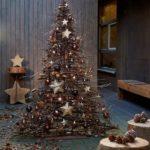 Новогодние украшения 2019: голая елка из веток