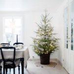 Новогодние украшения 2019: елка с огоньками
