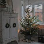 Новогодние украшения 2019: елка хюгге