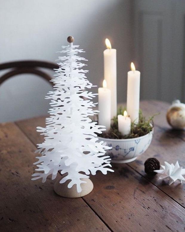Новогодние украшения 2019: 4 свечи зажигаются поочередно