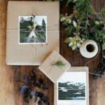 Новогодние украшения 2019: новогодняя упаковка с отрытками