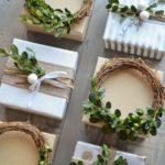Новогодние украшения 2019:красивая упаковка новогодних подарков