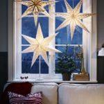Новогодние украшения 2019: подсветка звезды на окне