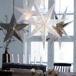 Новогодние украшения 2019: абажуры звезды