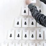Новогодние украшения 2019: адвент календарь - пакетики с елочками