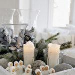 Новогодние украшения 2019: свечи и фигурки
