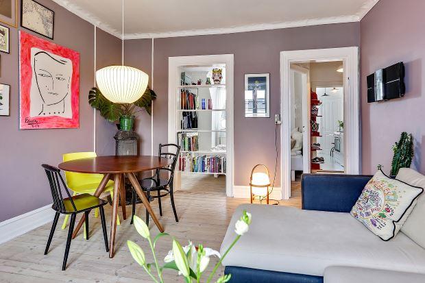 Квартира в скандинавском стиле в Копенгагене