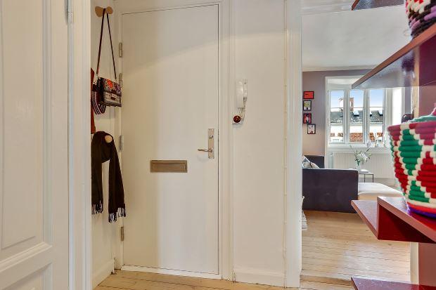 Квартира в скандинавском стиле в Копенгагене: прихожая