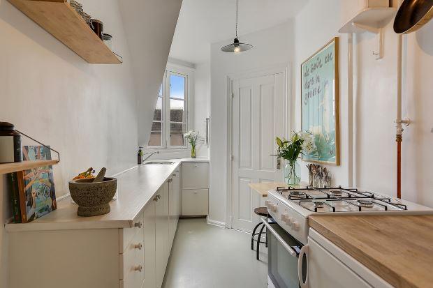 Квартира в скандинавском стиле в Копенгагене: кухня