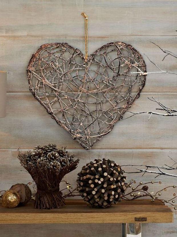 Идеи на День Святого Валентина: плетеное сердце