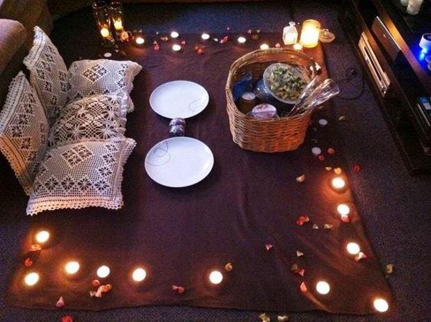 Идеи на День Святого Валентина: романтический вечер