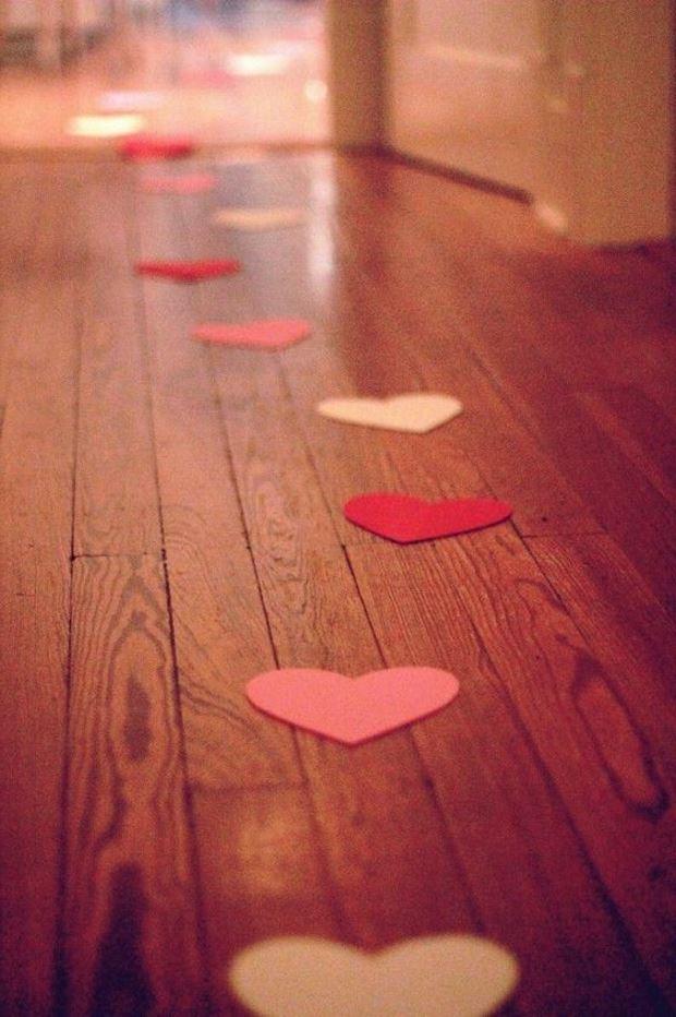 Идеи на День Святого Валентина: иди по сердечкам