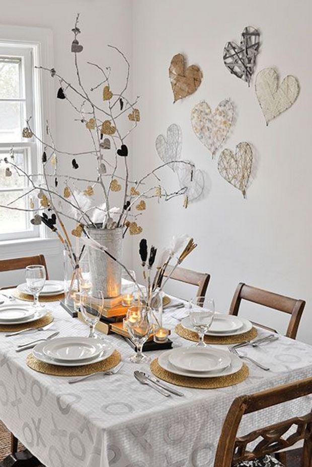 Идеи на День Святого Валентина: праздничный стол